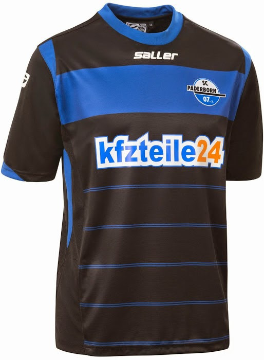 Los Jerseys de Paderborn 2014-2015 son hechos por Saller acaa2f233d367