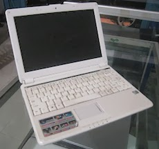jual netbook 2nd byon queva w9121