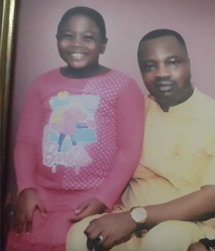 Image result for gbenga aruleba and daughter