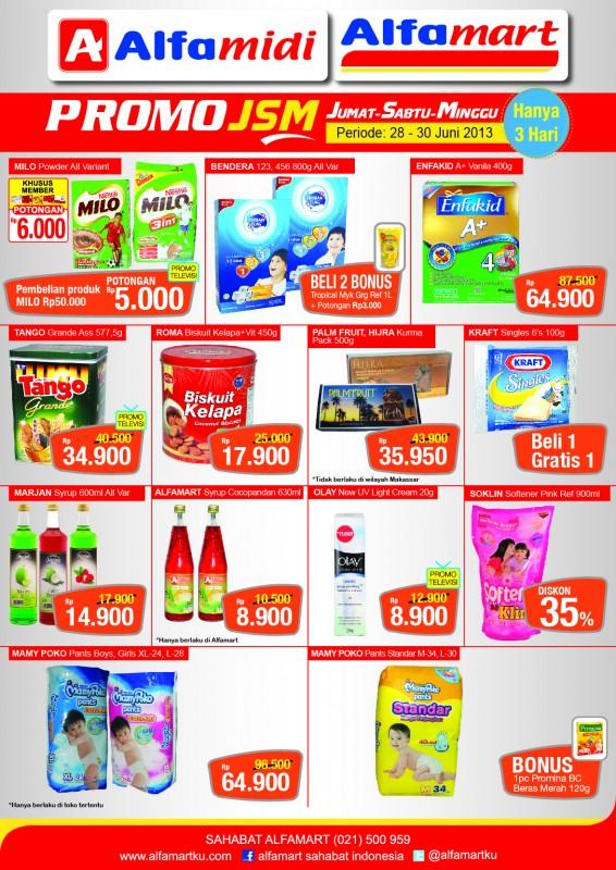Juragan Diskon Katalog Promo Alfamart Dan Alfamidi Terbaru Jsm Periode 28 30 Juni 2013