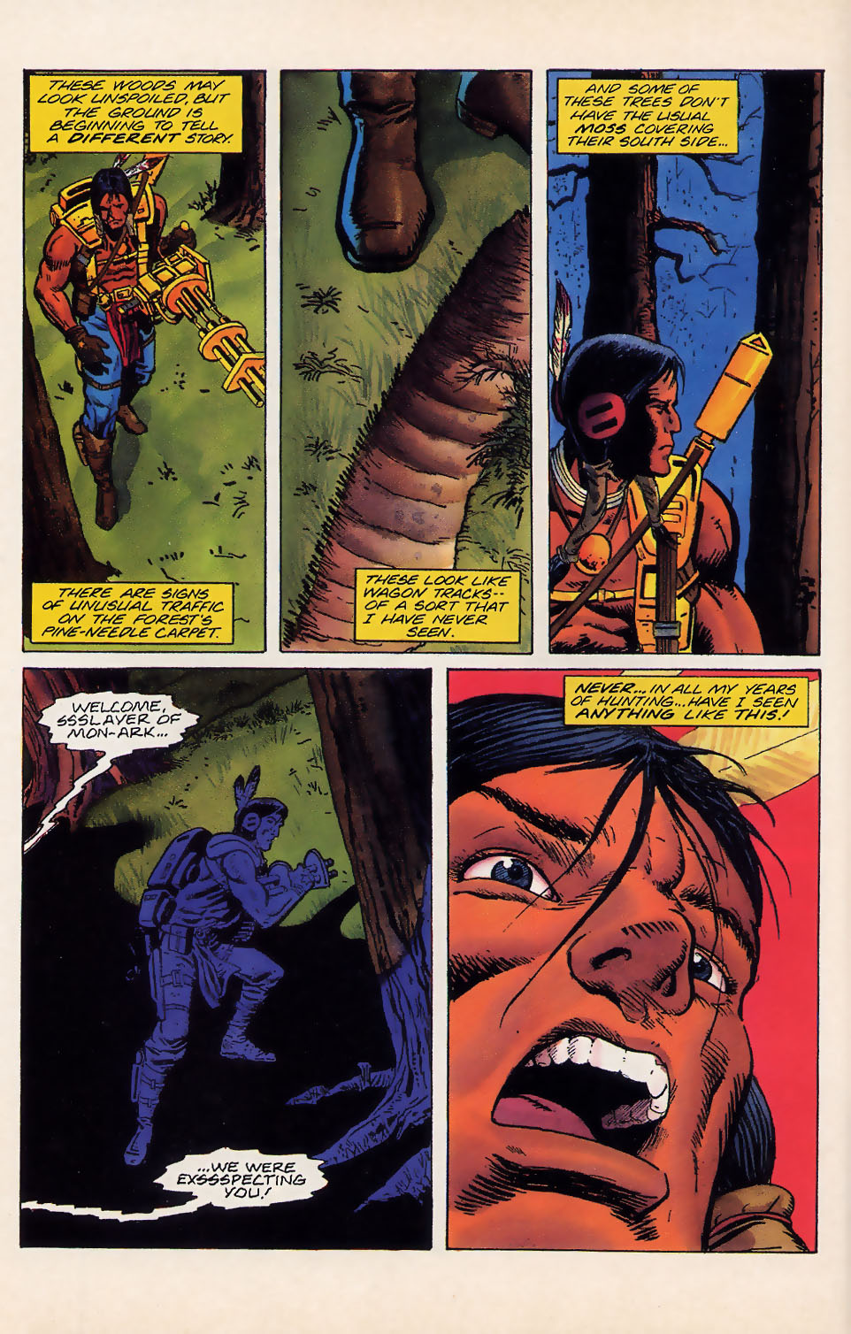 Read online Turok, Dinosaur Hunter (1993) comic -  Issue #18 - 11