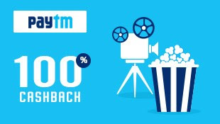 Paytm 100% Cashback on First Movie Booking (All Users) ~ TrickFlu