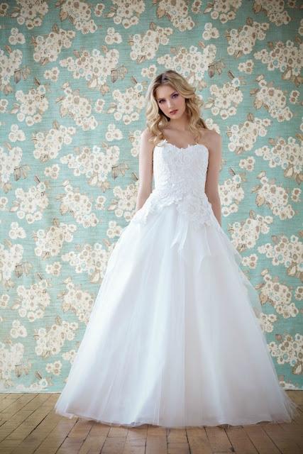 vestidos de novia sencillos para jardin