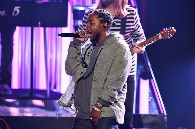 Kendrick Lamar - American Music Awards 2016