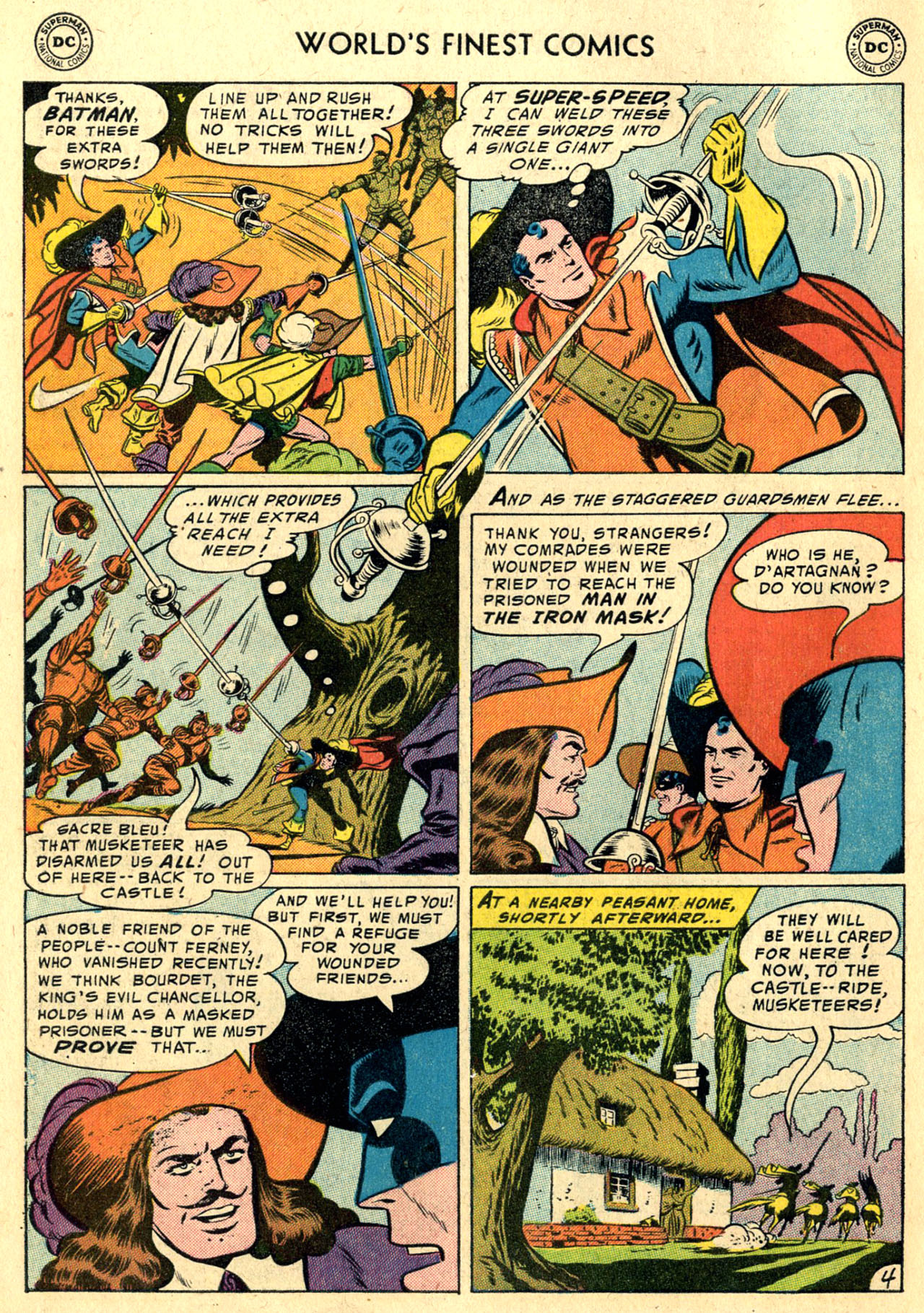 Read online World's Finest Comics comic -  Issue #82 - 6