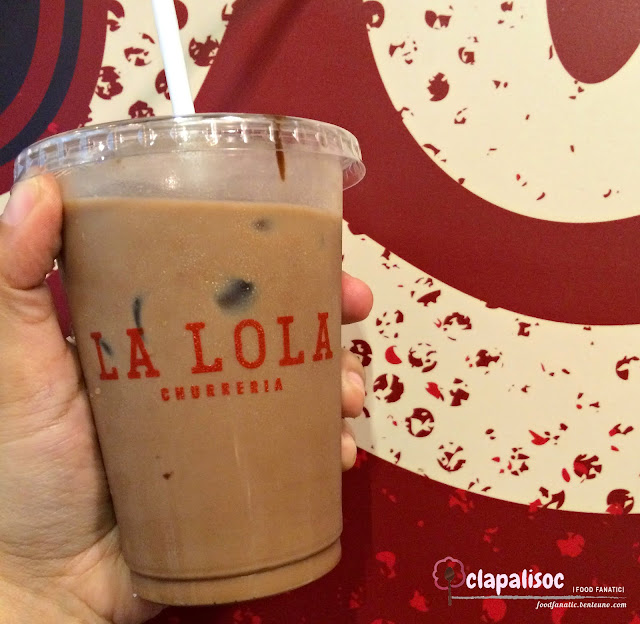 Iced Mocha from Churreria La Lola