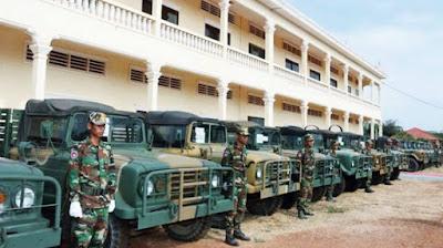Truk Militer Kamboja