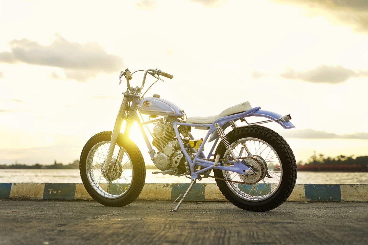 Modifikasi Honda Tiger GL200 Bratstyle Motor Custom