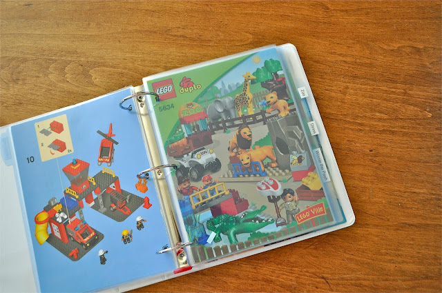 How To Organize Lego Instruction Booklets Make Life Lovely