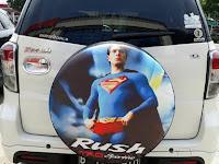 Jual Cover Ban Serep Toyota Rush Custom