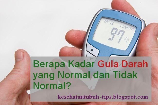 Berapa Kadar Gula Darah yang Normal dan Tidak Normal?
