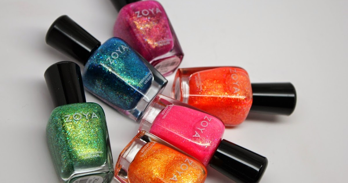 The Non Blonde Zoya Bubbly Summer 2014 Nail Polish Collection