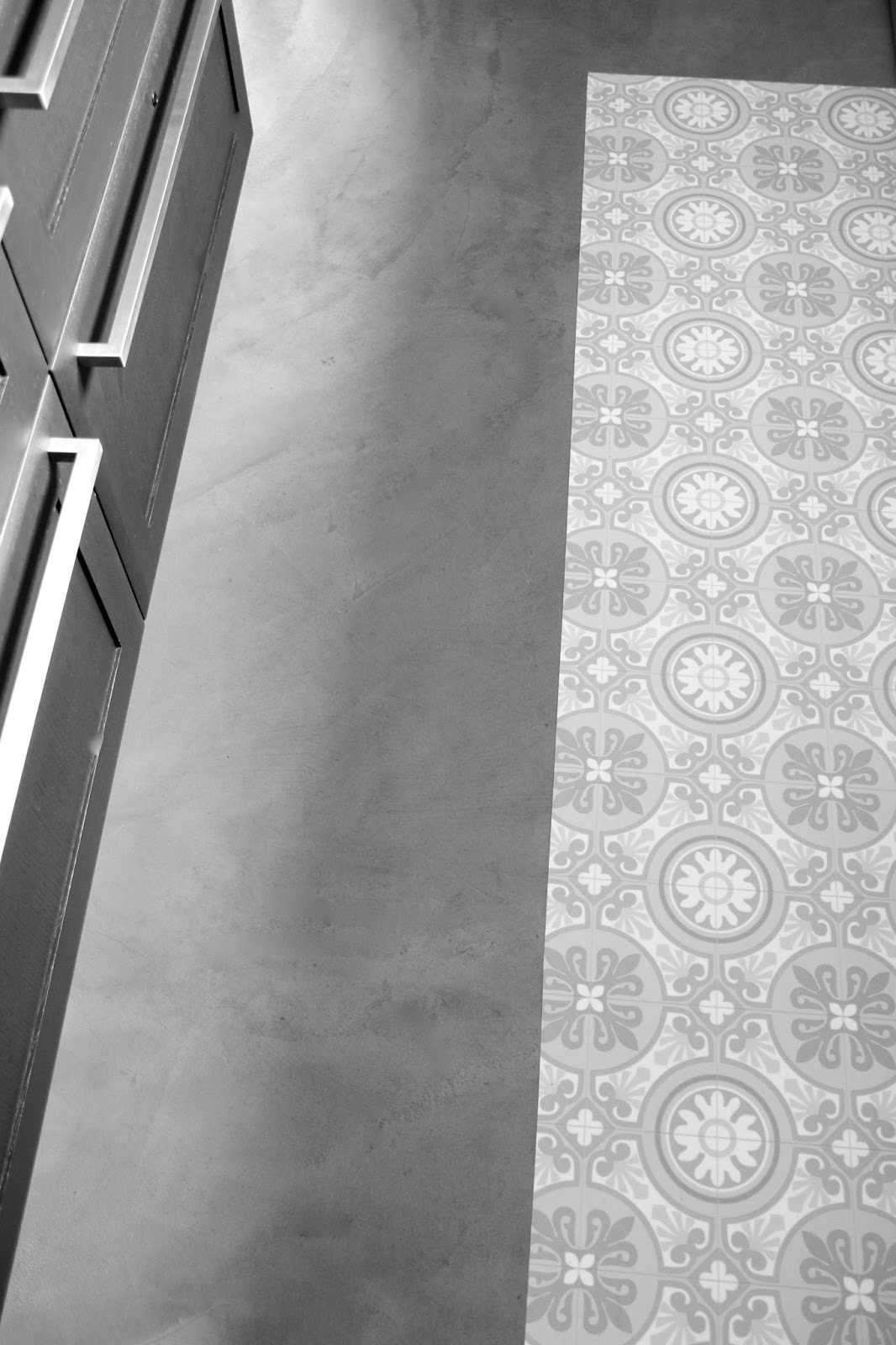regardsetmaisons mon tapis vinyle carreaux de ciment diy. Black Bedroom Furniture Sets. Home Design Ideas