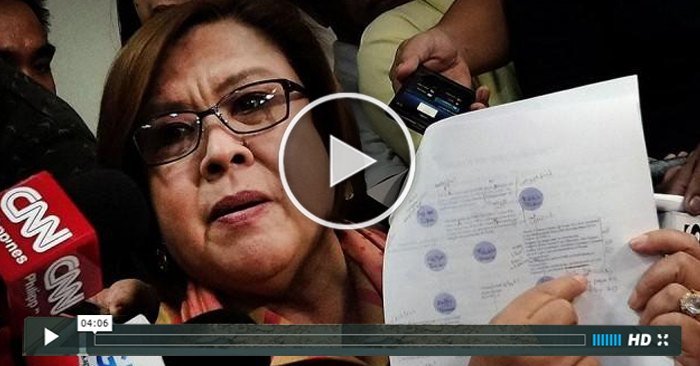 WATCH: Sen.De Lima Filed Petition Against Marcos Burial