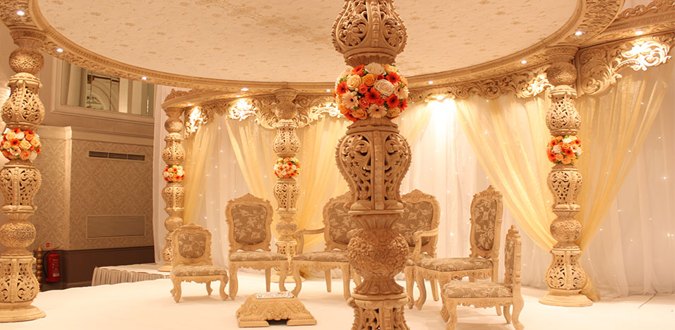 Om creatives unique indian wedding decoration styles for Asian wedding bedroom decoration
