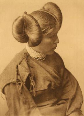 mujer nativa hopi