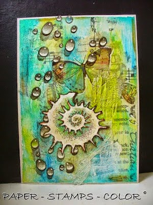 Winner of the Mixed Media Monthly challenge