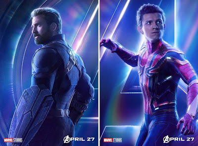 Marvel's Avengers: Infinity War Teaser Character One Sheet Movie Poster Set