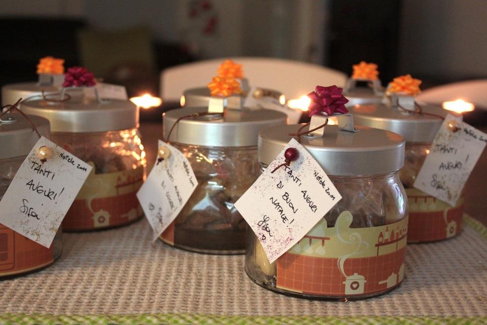 Top Profumo di cose buone: Idee regalo: biscotti nel vasetto! CV46