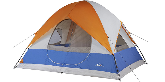 2 room Dome style 5-person tent u2022 Removable ider splits the tent into 2 rooms u2022 Double D door for easy entry and exit  sc 1 st  TechCinema & Top 10 Best Camping Tents Under $100 | TechCinema