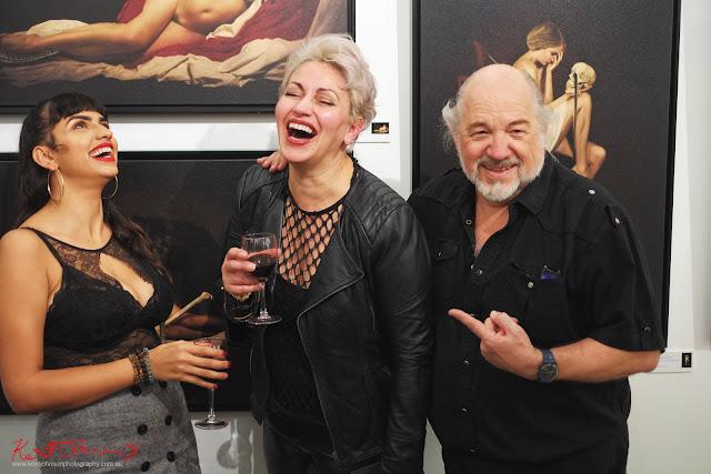 Model at Tela Umana with Lori Cicchini and Edmond Thommen. Photographed by Kent Johnson for Street Fashion Sydney