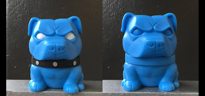"Five Points Festival 2018 Debut Danger Dog OG Edition 5"" Vinyl Figure by Tenacious Toys x NEMO"