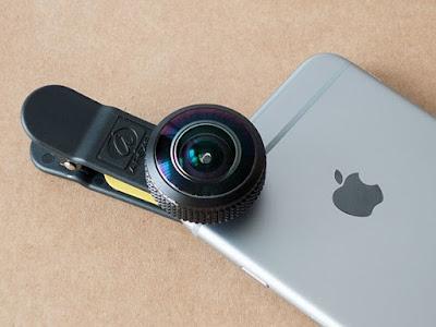 Apexel 8mm fisheye lens balıkgözü objektif