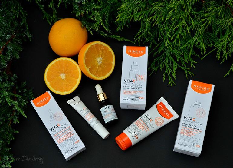 Witaminowa pielęgnacja Mincer Pharma VITA-C-INFUSION - piękna i promienna skóra od zaraz!!!