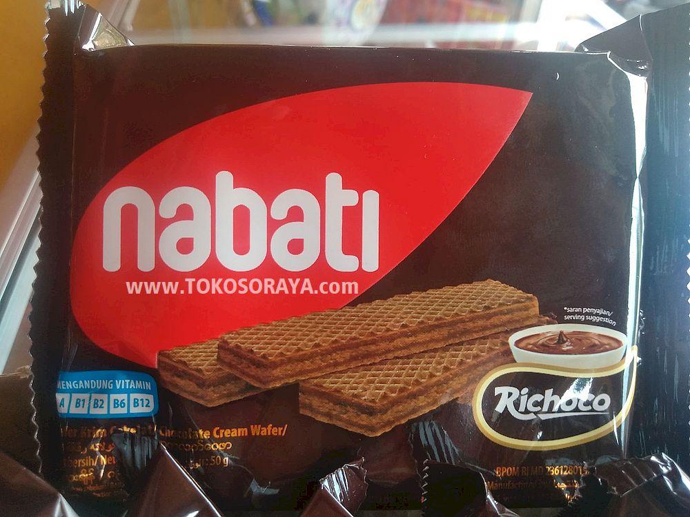 jual produk nabati wafer krim coklat 50g