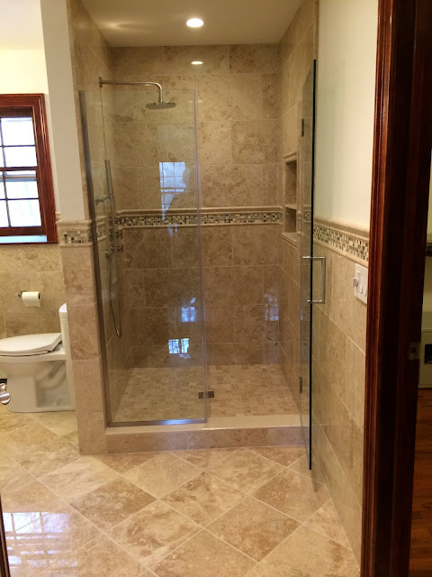 polished marble bathroom remodel new fairfield ct october 2016