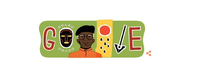 Late Nigerian Author Chinua Achebe Gets His Own Google Doodle