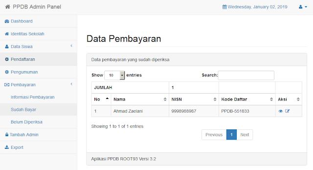fasilitas pembayaran aplikasi ppdb online smk