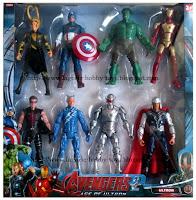 Marvel DC Avengers 2 GiftBox 8in1 Set Seri 1 (isi 8) k2