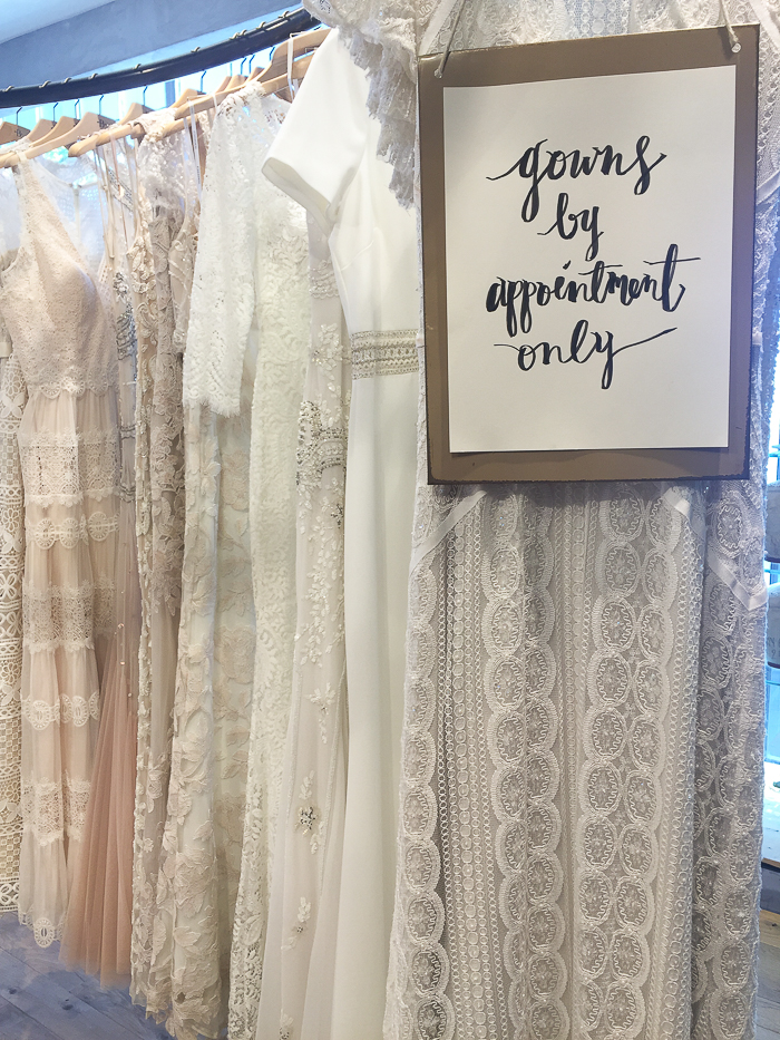BHLDN bridal review, atlanta wedding dress boutiques, atlanta bridal shop review