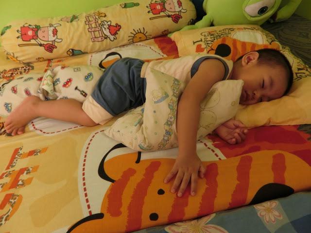 tidur tanpa buaian