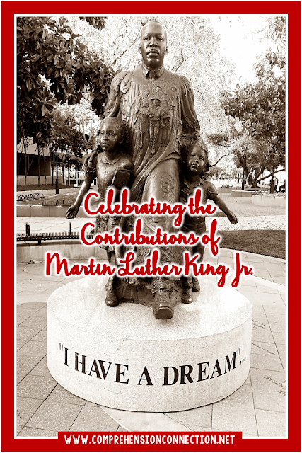 Celebrate life of Martin Luther King Jr. with the activities and resources shared in this post. They can be used all year long. Freebies included.