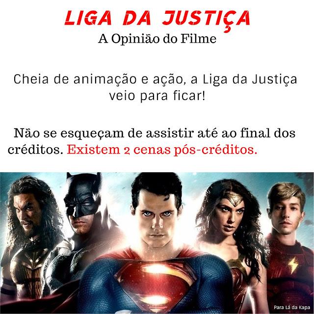 Cenas pós-créditos da Liga da Justiça