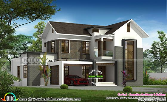 2701 sq-ft modern house design