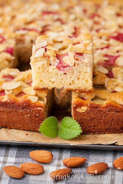 Ciasto na kefirze z migdałami