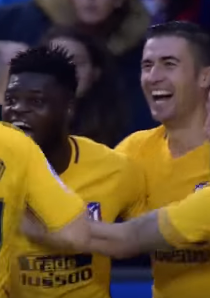 أتليتكو مدريد يفوز على ديبورتيفو لاكورونا بهدف بارتى