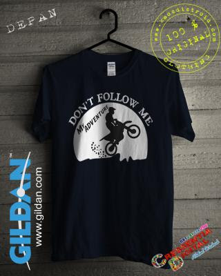 Baju Kaos Distro Gildan MotoCross FreeStyle Warna Navy