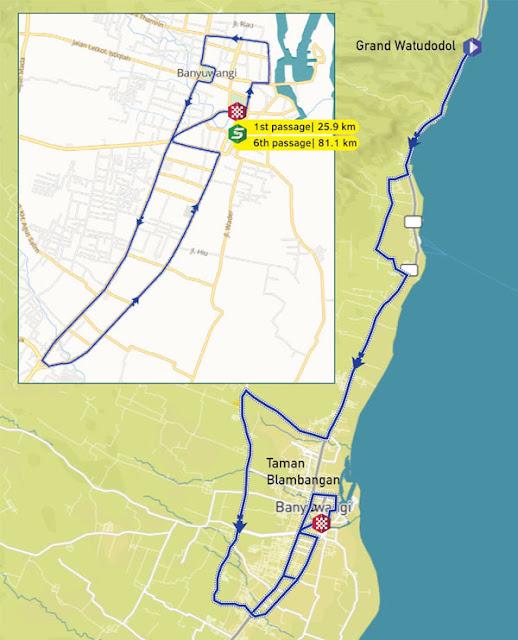 Rute etape 3 ITdBI 2016.