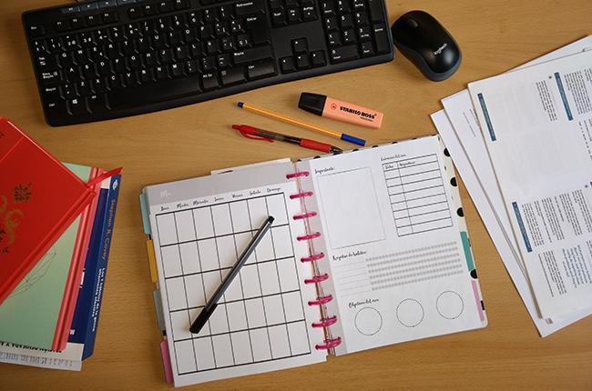 Kit para estudiantes - Registro mensual