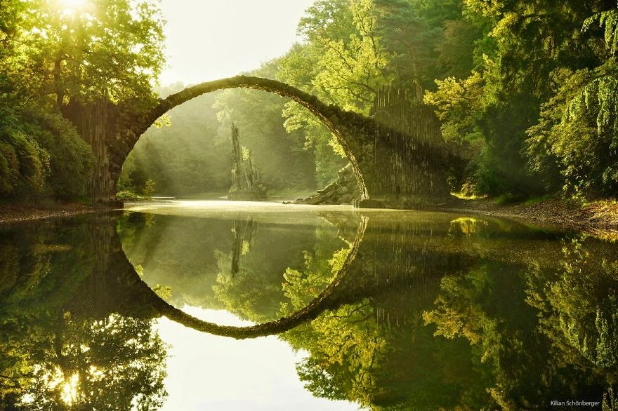 Rakotiz Brucke, Germany - 20 Mystical Bridges That Will Take You To Another World