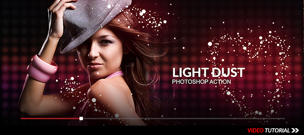 Light Dust Photoshop Action