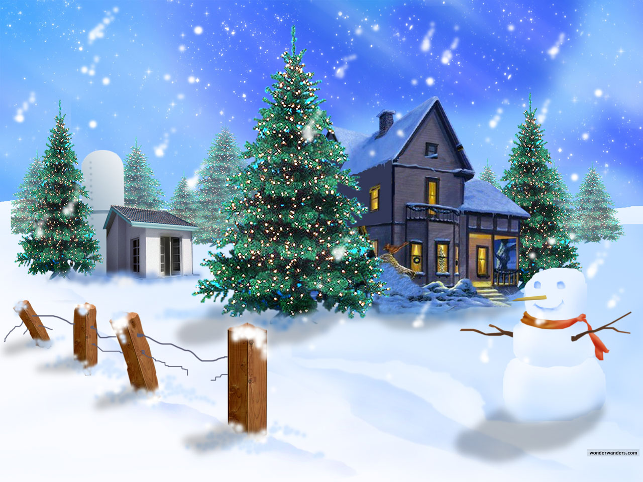 3D Christmas Wallpaper HD| HD Wallpapers ,Backgrounds ,Photos ,Pictures, Image ,PC