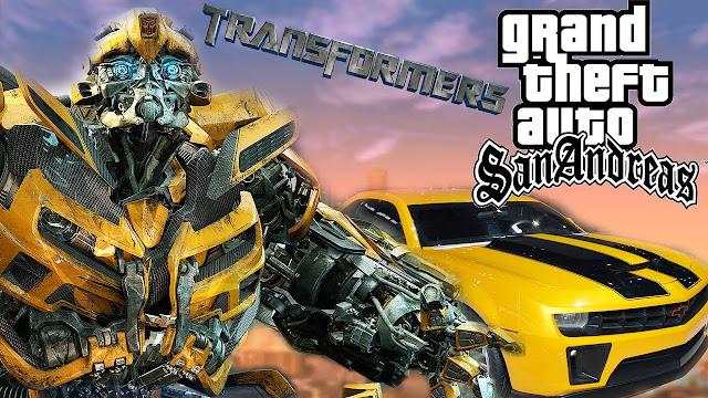 تحميل مود ترونسفورماتور gta sa شرح تثبيت TRANSFORMER Mod مود الرجل المتحول جاتا سان