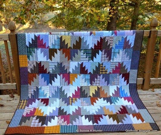 Scrappy Mountain Majesties Quilt Free Tutorial