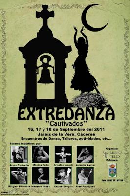 Programa de Actividades Extredanza 2011