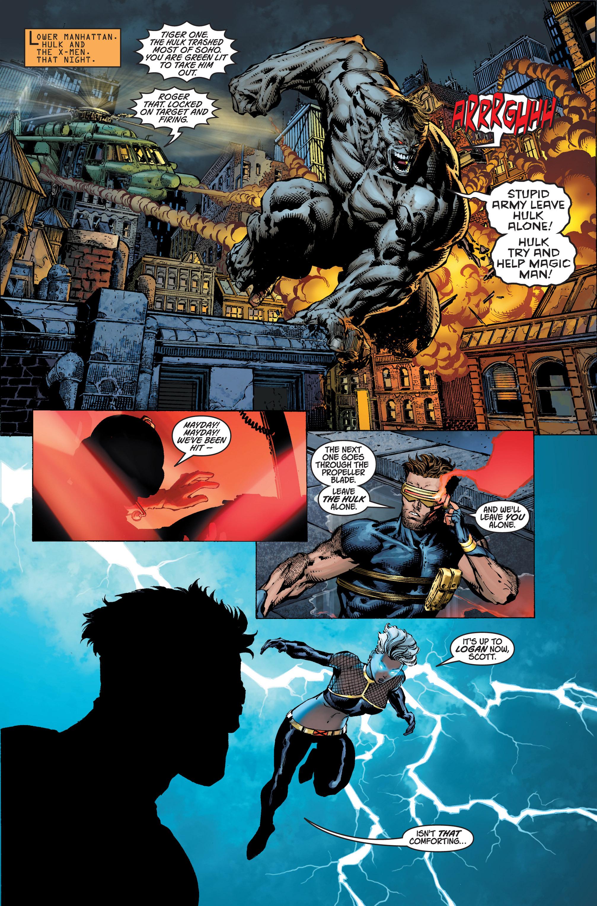Read online Ultimatum comic -  Issue #4 - 9